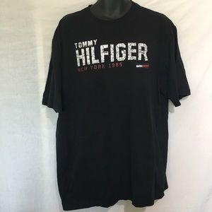 Tommy Hilfiger Black T Shirt